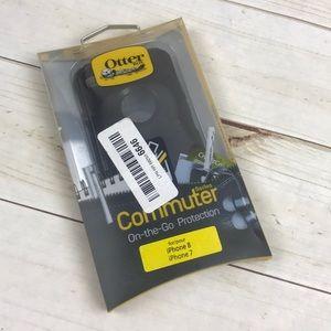 OtterBox Commuter Series Black Case iPhone 7 & 8